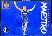 Luka Doncic 2019-20 Panini Court Kings Maestro Dallas Mavericks Card #10