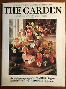 THE ROYAL HORTICULTURAL SOCIETY THE GARDEN JOURNAL APRIL 1995 VOL 120 PART 4
