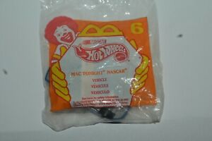 1998 Hot Wheels MAC TONIGHT NASCAR Vehicle McDonald's Happy Meal Toy Mint In Bag