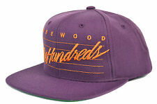 THE HUNDREDS - ROSEWOOD DAZE SNAPBACK CAP - PURPLE AUTHENTIC - IMPORTED FROM USA
