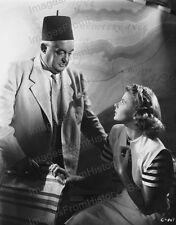 8x10 Print Sydney Greenstreet Ingrid Bergman Casablanca 1943 #IB83