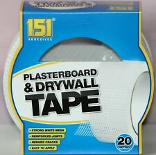 PLASTERBOARD & DRYWALL TAPE Strong MESH Repair Cracks Joint Wall 48 mm x 20 M
