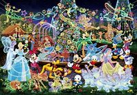 Tenyo Jigsaw Puzzle DW-1000-449 Disney Magical Illumination (1000 Pieces)