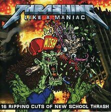 Various Artists - Thrashing Like A Maniac / Various [New CD] UK - Import