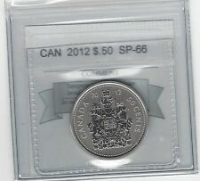 **2012**, Coin Mart Graded Canadian 50 Cent, **SP-66**