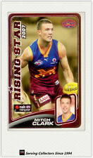 2008 SA The Advertiser AFL Cards Risingstar Nominee RS9 Mitch Clark (Brisbane)