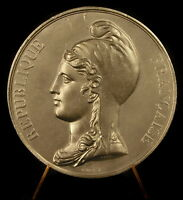 Medal Republic French Beanie -phrygian Marianne in Pewter Keg 1834 Medal