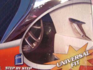 Pilot Automotive CZ-242C Universal Body Vents Chrome New