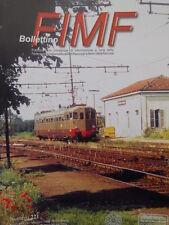 Bollettino treni FIMF n°221 Locomotive Trifase in Spagna  [TR.33]