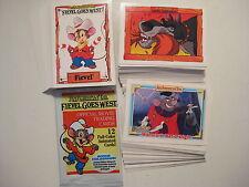 FIEVEL GOES WEST 1991 - 150 BASIC CARD SET (IMPEL) NO HOLOGRAM CARDS