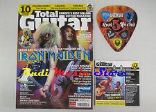 TOTAL GUITAR Magazine 177 2008 +cd & PLETTRI PICKS Iron Maiden Rolling Stones