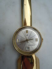 Montre Sedaco swiss made coupe papier bureau bronze vintage