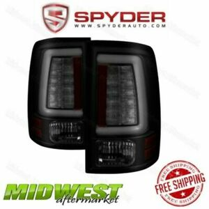 Spyder Smoke LED Tail Lights Fits 2009-2016 Dodge Ram 1500 2010-2016 2500 3500