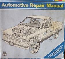 1982-1988 CHEVY/GMC S10/S15 REPAIR MANUAL; & 83-94 S10 BLAZER/S15 JIMMY 2 & 4WD