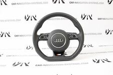 Audi A3 8V flat bottom genuine steering wheel S-Line with gearshift paddles