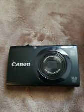 Canon PowerShot A3400 IS 16MP Camera w Battery NO CHARGER.