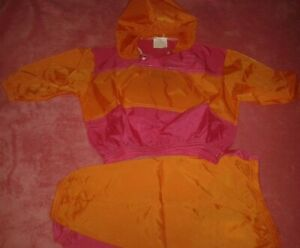 GIRLS AGE 12-18 MONTHS WATERPROOF 2 PIECE PUDDLESUIT MO FUN NEW IN PACKAGING