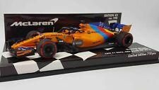 Minichamps 537186414 1/43 2018 MCLAREN MCL33 F.ALONSO LAST F1 RACE ABU DHABI GP