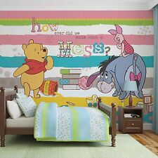 Disney Wallpaper mural for children's bedroom Winnie The Pooh - Christmas gift