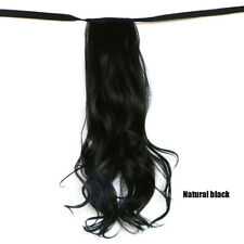 Clip In Hair Ponytail Wrap Around Ponytail Natura Hair Extensions Hairpiece