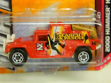 Matchbox 2000 HUMMER H1 SEARCH and RESCUE Fire Truck RED 100/120 2012 Thailand*