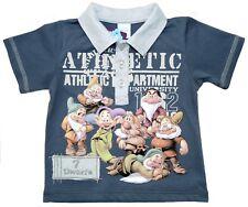 Neu! Disney Schneewittchen 7 Zwerge Kurzarm Poloshirt T-Shirt Shirt  Gr.80