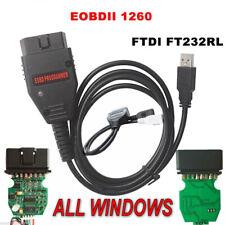 Galletto 1260 ECU Chip Tuning interfaz OBD2 EOBD 2 Cable de mapa de herramienta de reasignación intermitente