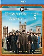 DVD: Masterpiece: Downton Abbey Season 5 [Blu-ray], .. Acceptable Cond.: Hugh Bo