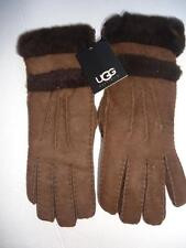 UGG ® Australia SHEARLING In and Out GLOVES, M,Chocolate, NWT, MSRP $175