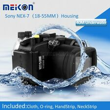 Underwater Waterproof  Housing Camera Case for Sony NEX-7 18-55mm Lens Camera