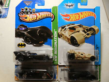 Hot Wheels Batman Batmobile Lot 4 TUMBLER CAMOFLAUGE LIVE IMAGINATION CITY MODEL