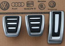 Audi TT 8S III 3 original TTRS Pedalset Pedale Edelstahl Pedalkappen TTS Kappen