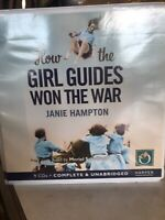 How the Girl Guides Won The War By Janie Hampton an Audiobook in CD Format
