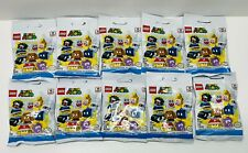 NEW Lego Minifigures Super Mario LOT OF 10 Unopened Unsearched BLIND Packs 71361