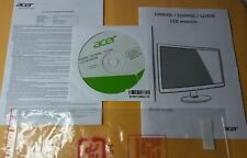 DISK (MU.40500.11)/ MANUAL ONLY FOR:  Acer S200HQL 19.5 -Inch Screen LCD Monitor