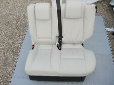 Genuine Range Rover Sport L320 rear seat left middle ivory leather interior