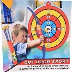 Kids Archery Set Toy Bow Arrow Target Children Junior Outdoor Indoor Fun Game