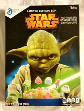 """General Mills STAR WARS """"YODA"""" Limited Edition 10.5 oz Cereal (Collectible ONLY)"""