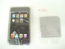 GRIFFIN IPOD TOUCH 1G CLEAR CASE POLYCARBONATE HARD SHELL SCREEN PROTECTOR