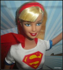 NRFB MATTEL 2003 BARBIE DC COMICS SUPER GIRL LUNCHBOX KEYCHAIN  #B5837