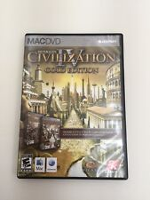 Civilization IV Gold Edition Mac DVD-ROM by SID MEIER Firaxis 2K Games Macintosh