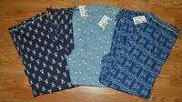 Men's Psycho Bunny Print All Over Cotton Lounge Pajama Pants M L XL New PB4148