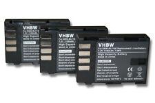 3x BATTERY FOR Panasonic Lumix DMC-GH3 / Lumix DC-GH5