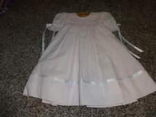 NWOT NEW BOUTIQUE STRASBURG 12M 12 MONTHS PINK SMOCKED DRESS