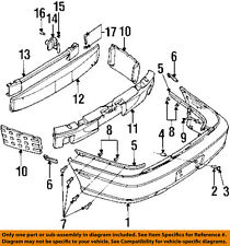 Cadillac GM OEM 97-99 Catera Rear Bumper-Outer Support Left 90492577