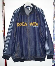 Rocawear Jacket Universe Stripe Blue Denim Co. Zip Up   Size 3XL