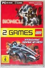 PC CD-ROM LEGO Bionicle und Drome Racers - 2 Spiele ab 6 Jahren Englisch