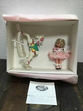 "Madame Alexander Doll Hush You Bye w/ Wooden Rocking Horse 25235 Open Box ""Read�"