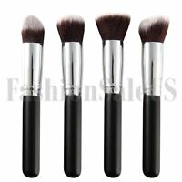 4Pcs Makeup Brushes Tool Set Cosmetic Eyeshadow Face Powder Foundation Brush New