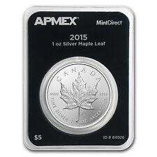 2015 Canada 1 oz Silver Maple Leaf (MintDirect® Single) - SKU #84926